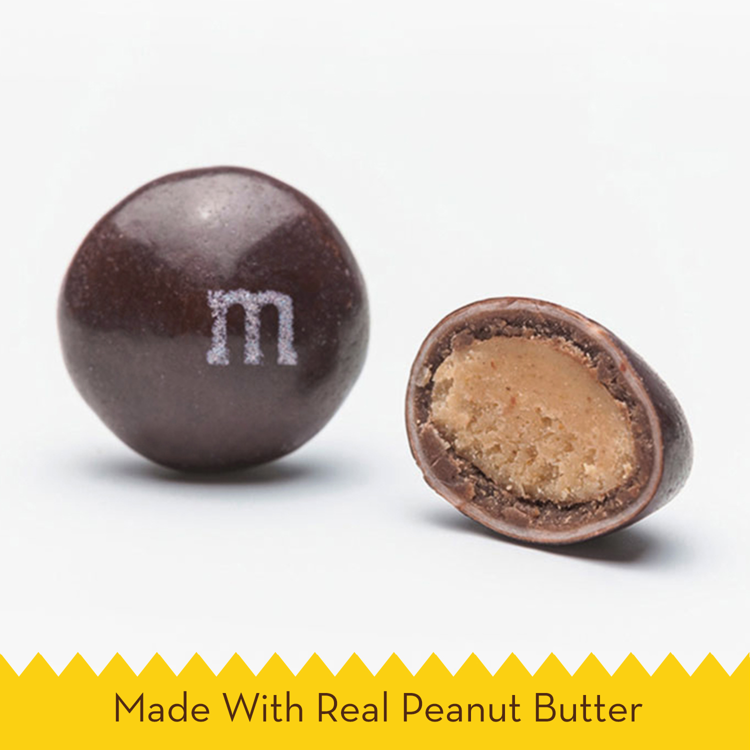 M&M\'S Peanut Butter Chocolate Candy Party Size 38-Ounce Bag ...