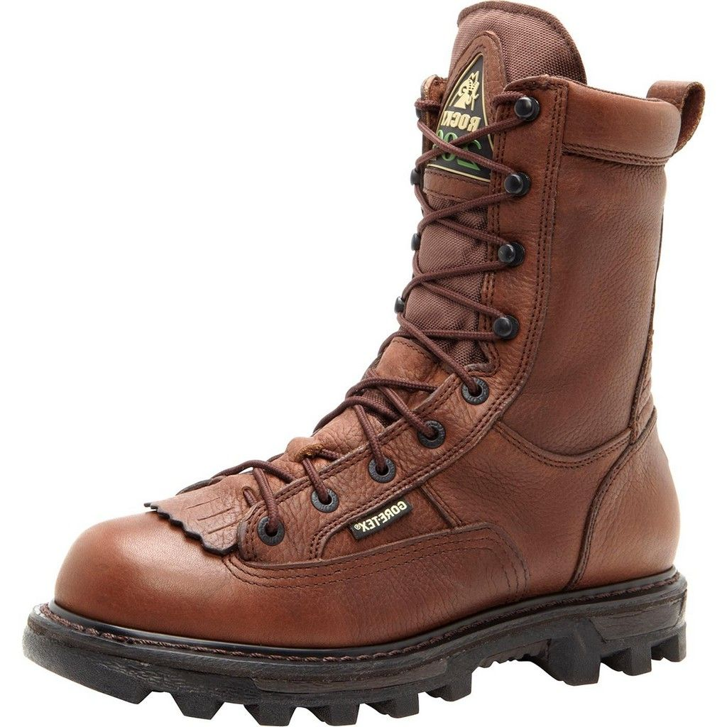 Rocky Outdoor Boots Mens BearClaw 3D GTX Outdoor Brown FQ...