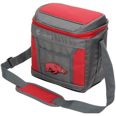 Arkansas Razorbacks Coleman 9-Can 24-Hour Soft-Sided Cooler - No (A To Z Alma Arkansas Store Hours)
