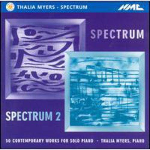 Spectrum & Spectrum #2: 50 Contemp Wrks Solo Pno