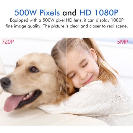 [23 LEDs] 5.0MP HD 2.4G WiFi Camera With Dual 5DB Antennas Outdoor IP Camera 1080P IP66 Waterproof Wireless 500W Pixel Color Night Version PTZ Two-Way Audio Motion Sensor For Home Security Surveillanc - image 2 of 13