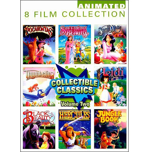 Collectible Classics - Vol. Two: Pocohontas / Sleeping Beauty / Snow White / Thumbelina / Heidi / Black Beauty / Hercules / Jungle Book (Full Frame)