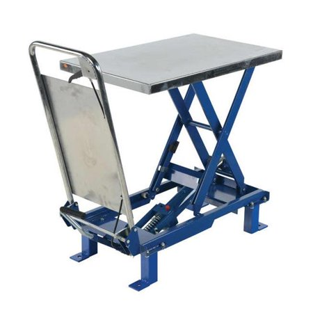 - Vestil Manufacturing SCTAB-2000-3240-FP 32 x 40 in. 2000 lbs Foot Pump Scissor Lift Table