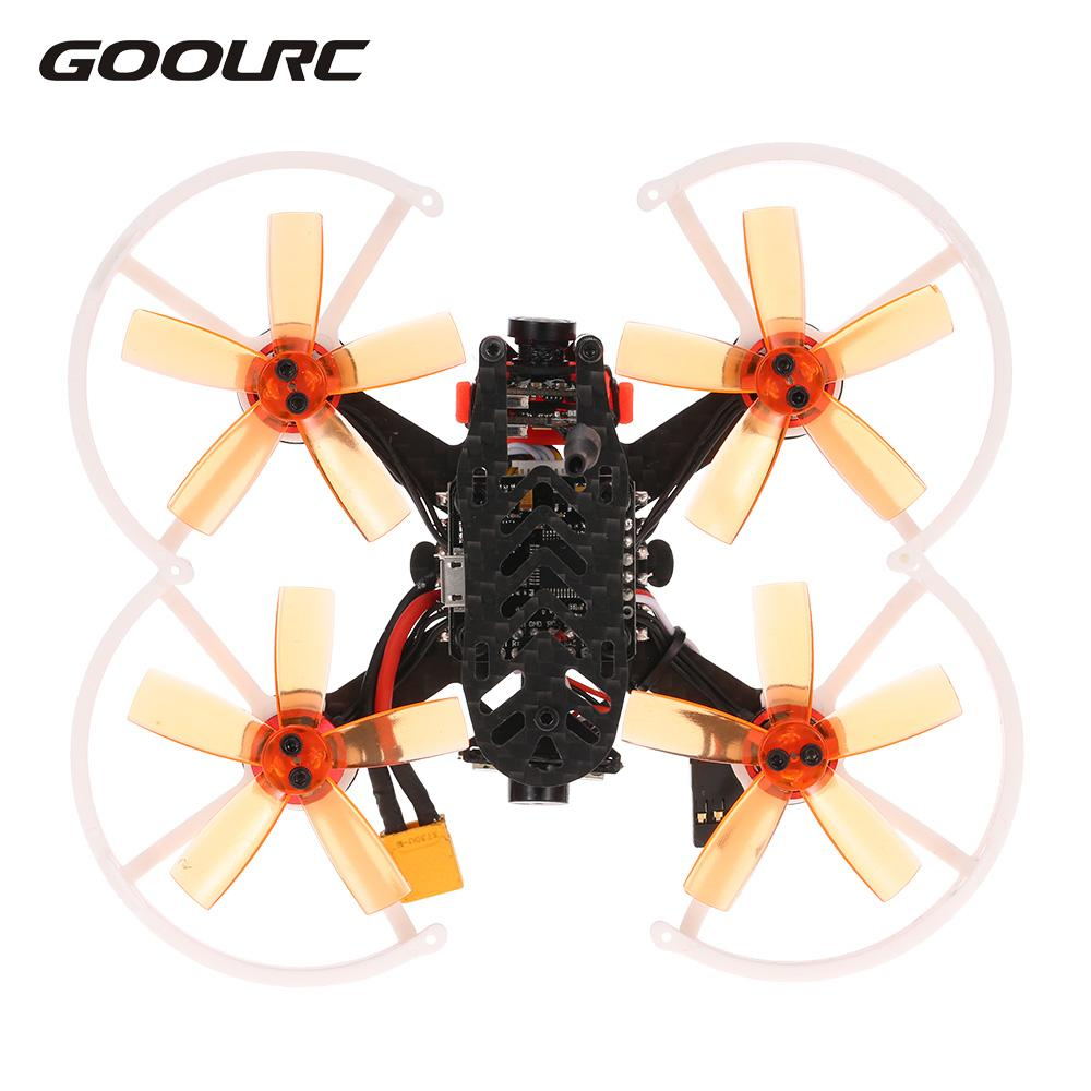 GoolRC G90 Pro 90mm 5.8G 48CH Micro FPV Racing Drone Brushless Motor Quadcopter With... by