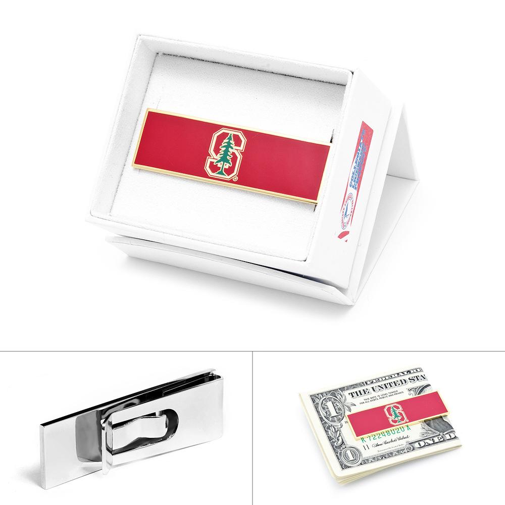 Cufflinks Inc. PD-STN-MC Stanford University Money Clip