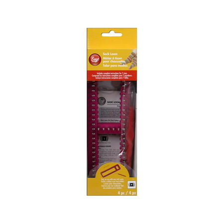 As State Ratings Loom Parents Worry >> Boye Sock Loom Tool Set 4 Piece Walmart Com