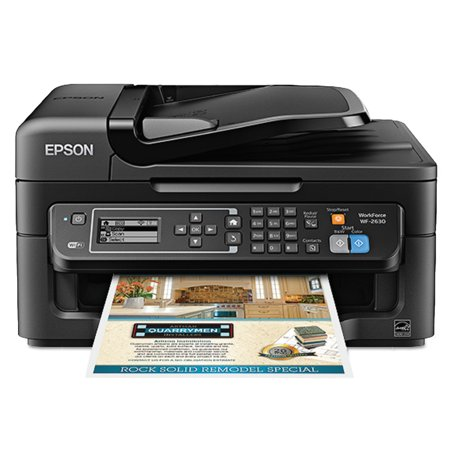 Epson Workforce Wf 2630 Aio Printer  Black