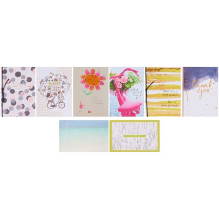 American Greetings Premium Thank You Greeting Card Collection, -