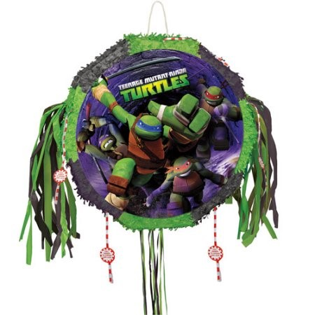 Teenage Mutant Ninja Turtles Drum Pull Pop Out Pinata