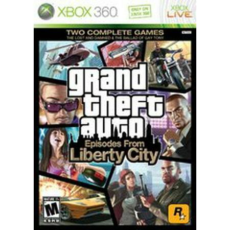 Grand Theft Auto Episodes From Liberty City - Xbox 360 (Gta Liberty City Car Cheats Xbox 360)