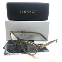 ea6ff57a43d3 Product Image Versace New Authentic Tan Female Eyeglasses MOD VE 3212B 617  52 16 140