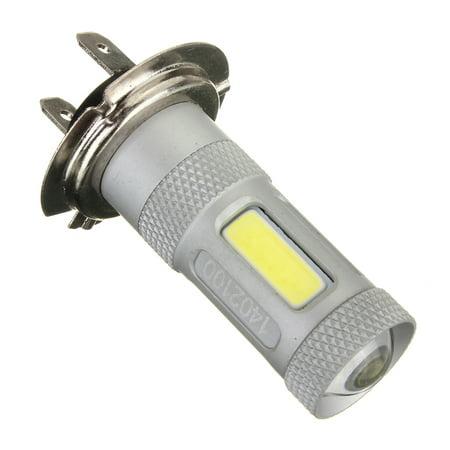 H7 80W High Power COB LED High Power DRL Fog Light Head Bulb Lamp Xenon White (Best H7 Bulbs Uk)