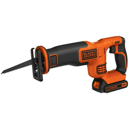 BLACK+DECKER 20V Max Cordless Recip Saw, Bdcr20C
