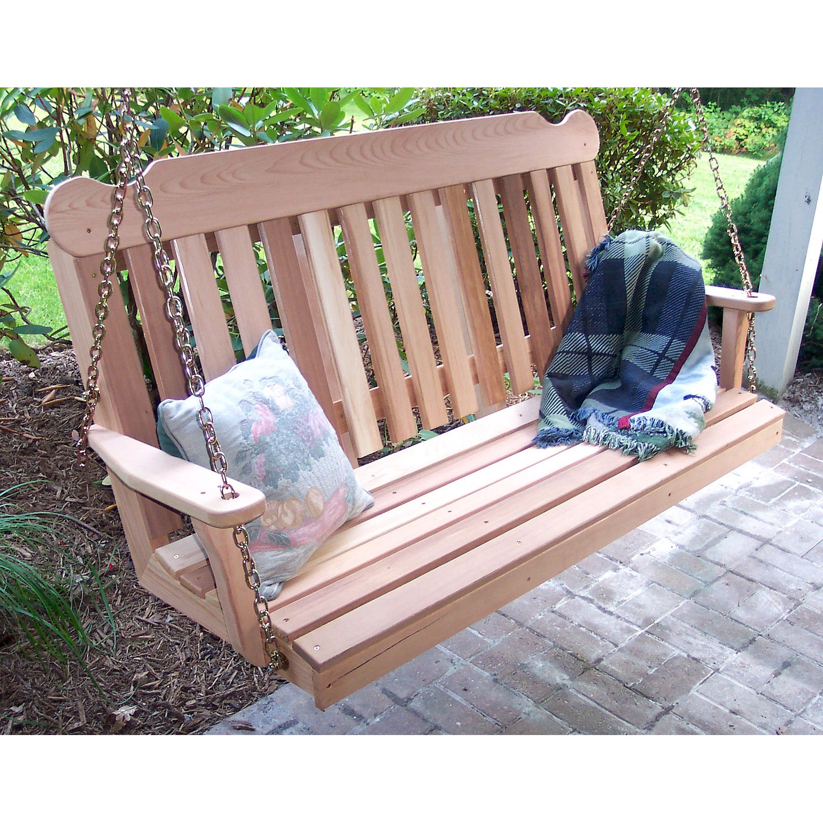 Creekvine Designs Classic Cedar Porch Swing by Porch Swings