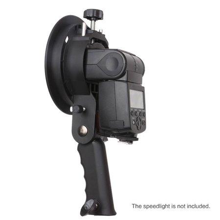 Bracket Pro Mount Adapter Holder for Speedlite Snoot Flash Softbox Hand grip - image 2 of 8