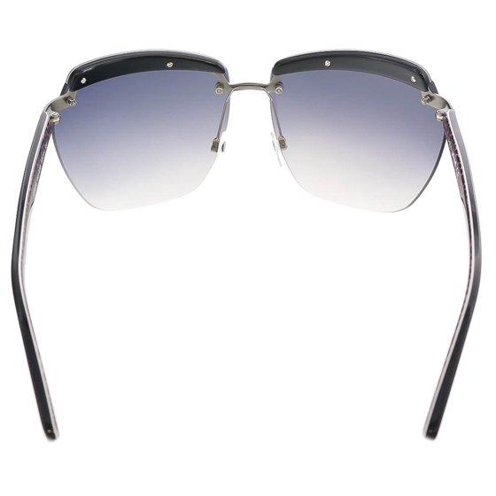 2cb3c4fded9 Just Cavalli - JC 503 83B Black Purple Rimless Square Sunglasses -  Walmart.com