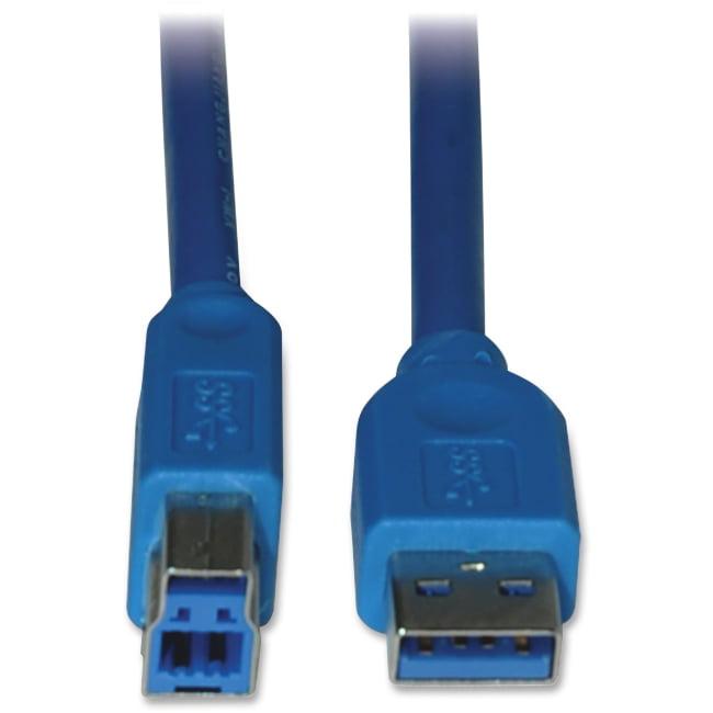 Tripp Lite U322-010 A-Male to B-Male USB 3.0 Cable, 10'