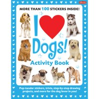 Walter Foster I Love Dogs! Activity Book
