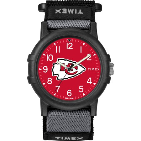 Timex - NFL Tribute Collection Recruite Youth Watch, Kansas City Chiefs