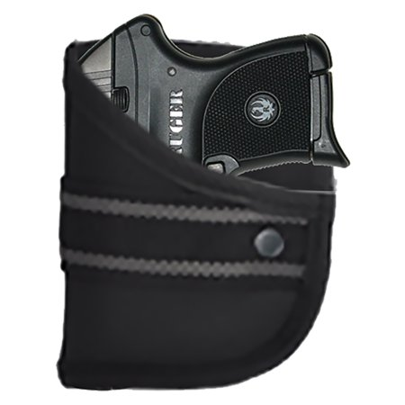 Right-Hand Custom Fit Woven Poly Pocket Holster Fits Ruger LCP 380 w/Viridian (W2) by Garrison (Ruger Lcp Custom Best Price)