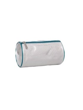 Clarisonic Mia or Pro Cleansing System Travel Barrel Bag- Silver and Peacock