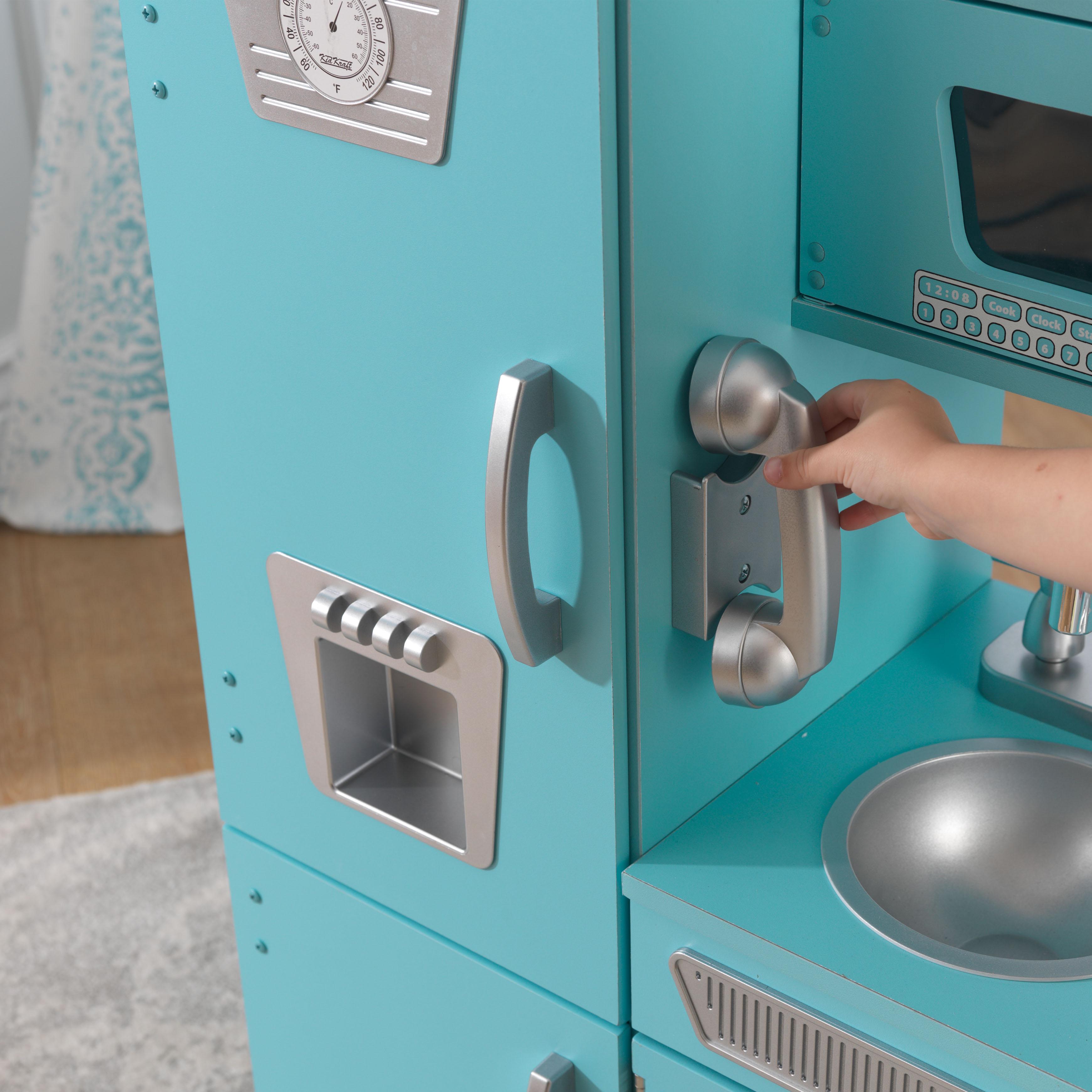 Kidkraft Kitchen Blue kidkraft vintage play kitchen - blue - walmart