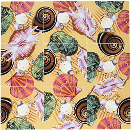 Scramble Squares Puzzle Sea Shells