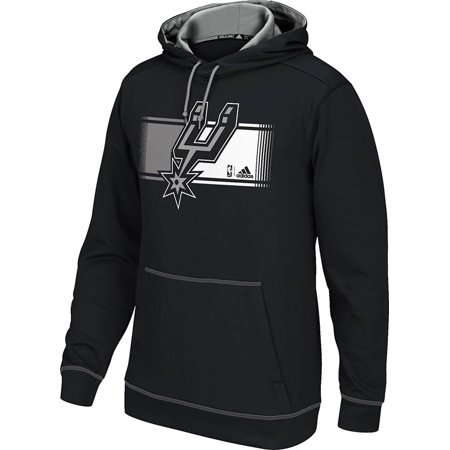 Adidas San Antonio Spurs Tip Off Pullover Hoodie (Black) by
