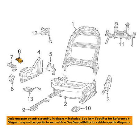 CHRYSLER OEM 15-16 200 Front Seat Track-Recline Handle Lever Right (200 Handle Center)