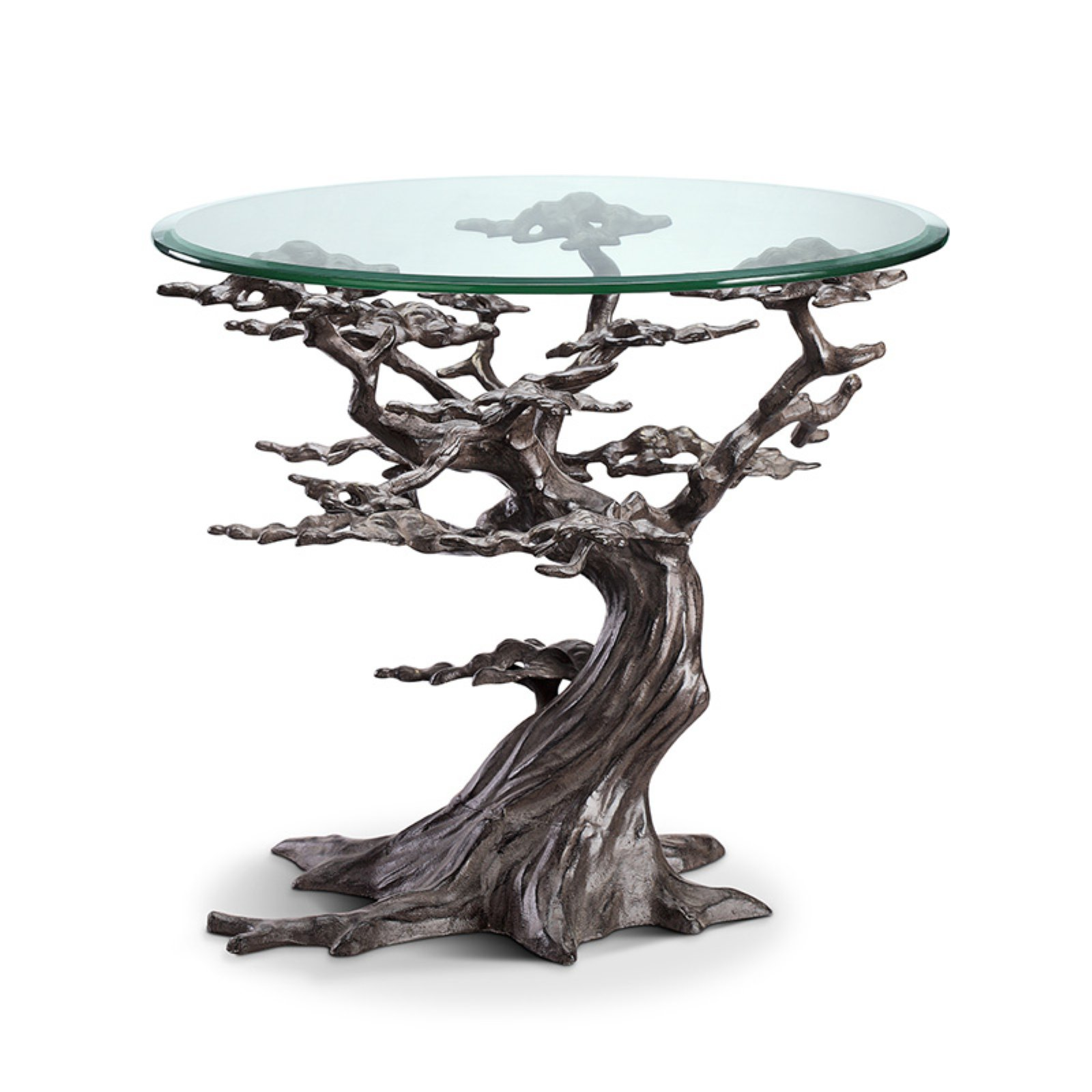 San Pacific International Cypress Tree End Table