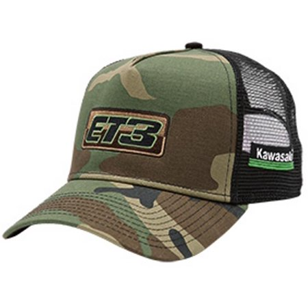 82b7c1879d8 Eli Tomac ET3 Embroidered Camo Trucker Hat by New Era - Walmart.com