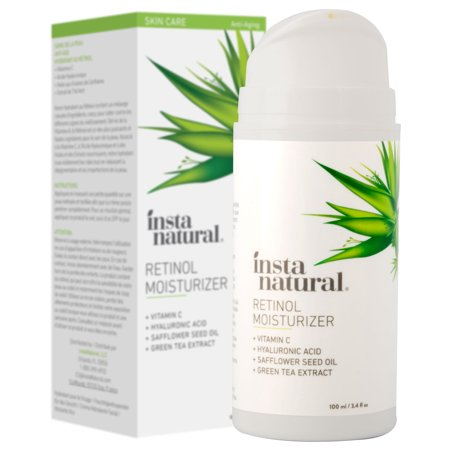 InstaNatural Retinol Moisturizer, Anti Wrinkle Night Cream, 3.4 oz ()