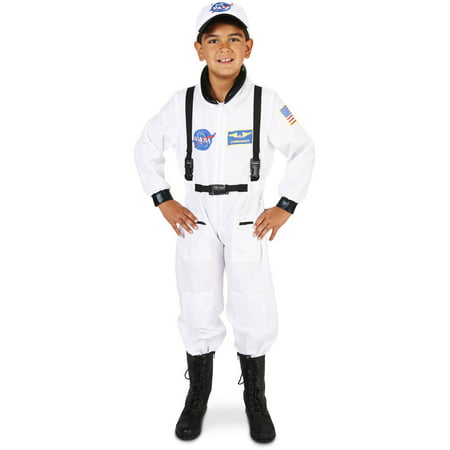 White Astronaut Suit Child Halloween Costume - Astronaut Costume With Helmet