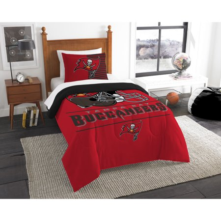 Tampa Bay Buccaneers The Northwest Company NFL Draft Twin Comforter Set - No Size