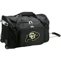 "Colorado Buffaloes 22"" 2-Wheeled Duffel Bag - Black"