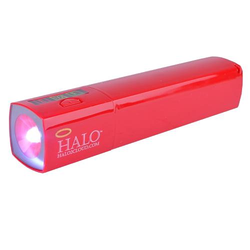 Halo Pocket Power Starlight 3000 USB 2.0 Charger Power Bank w/ LED Flashlight