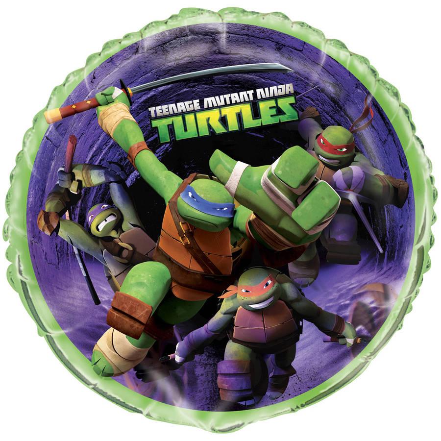 Foil Teenage Mutant Ninja Turtles Balloon, 18 in, 1ct
