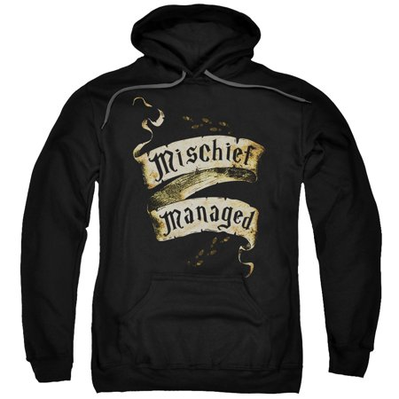 Harry Potter Mischief Managed Mens Pullover Hoodie](Spiderman Hoodie Mens)