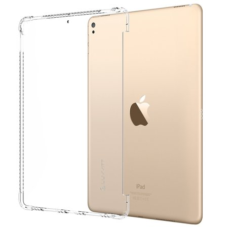 LUVVITT CLEAR GRIP Flexible Soft Transparent TPU Shockproof Rubber Back Cover for iPad Pro 10.5 inch (2017) and iPad Air 3 (2019 - 3rd