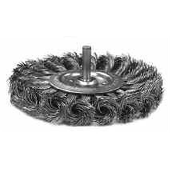 Anderson Brush 066-13652 3 in. Standard Twist Knot Wheel