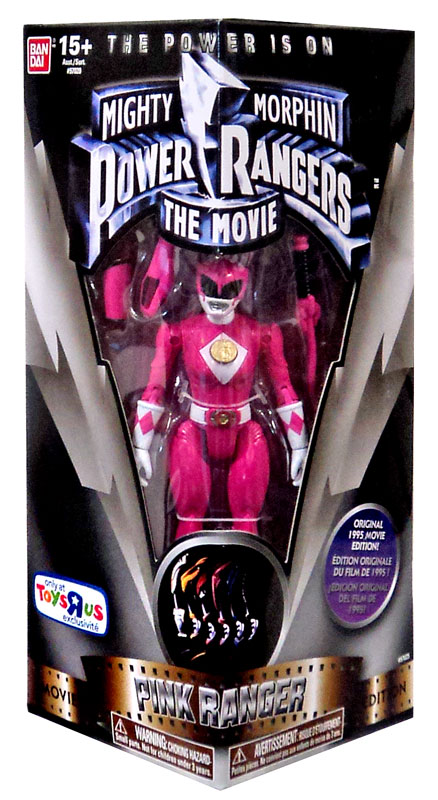 Mighty Morphin Power Rangers The Movie Pink Ranger Action Figure by