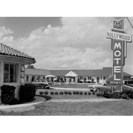 Posterazzi SAL255424345 USA Delaware New Castle Hollywood Motel Poster Print - 18 x 24 in. - image 1 de 1