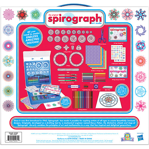 Spirograph Art Studio Kit by Kahootz