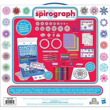 Spirograph art studio kit for Walmart arts and crafts