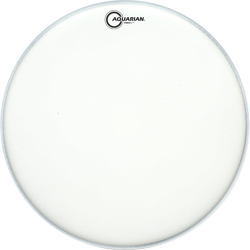 Aquarian Force I Texture-Coated Bass Drum Batter Head Clear 22 in. by Aquarian