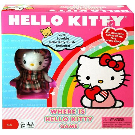 Hello Kitty Where is Kitty Game (Hello Kitty Neoprene Game)