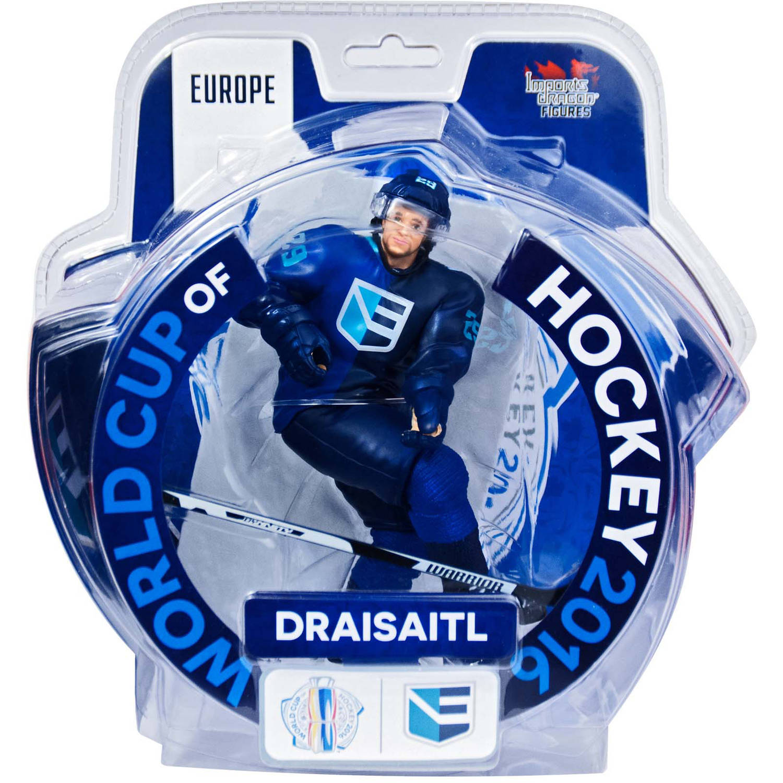 "Imports Dragon Figures ID808Q 2016 World Cup of Hockey Team Europe Leon Draisaitl Figure, 6"" ID808Q"