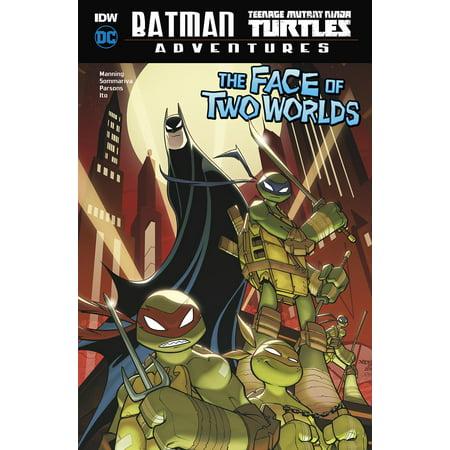 Batman / Teenage Mutant Ninja Turtles Adventures: The Face of Two Worlds - Ninja Turtle Face Painting