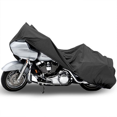 Motorcycle Bike Cover Travel Dust Storage Cover For Victory Vegas 8-Ball Jackpot Ness Premium - image 3 de 3
