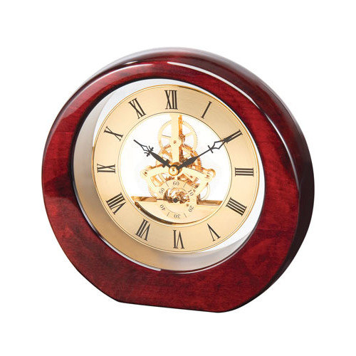 Chass DaVinci See Thru Desk Clock